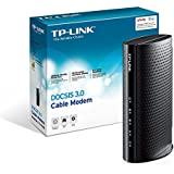 TP-LINK DOCSIS 3.0 High Speed Cable Modem, Certified for XFINITY from Comcast, Time Warner Cable, Cox, Cablevision and Bright House Networks (TC-7610)