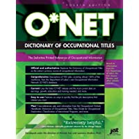 O*Net Dictionary of Occupational Titles