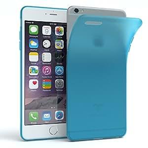 iPhone 6 Plus 手机壳 - EAZY CASE 优质保护套适用于苹果 iPhone 6+/6S Plus(MATT 系列)硅胶缓冲垫,减震 - 各种颜色的超薄手机壳50809 light Blue - Matt