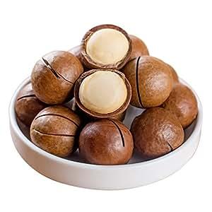 奶香夏威夷果500克*2袋大果 奶油口味 坚果炒货休闲零食干果 内赠开果器