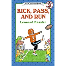 Kick, Pass, and Run (I Can Read Level 2) (English Edition)