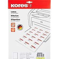 Kores 薄膜标签透明激光+复印机 2100.0x 297.0毫米 10张10张标签