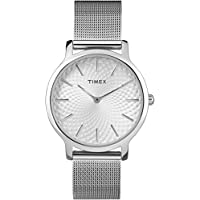 Timex Skyline Womens 手镯TW2R36200 Analogue Classic Stainless Steel Silver TW2R36200