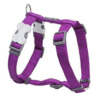 Red Dingo Classic Dog Harness, X-Large, Purple
