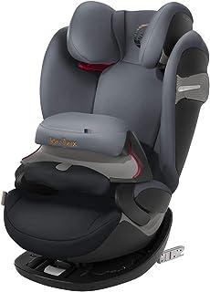 cybex Pallas S-Fix 汽车座椅,组 1/2/3 胡椒黑色