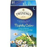 Twinings of London 伦敦川宁晚安茶,20包(6盒装)
