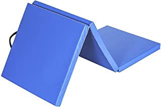 gymmatsdirect 体操翻滚练习垫 - 5.08cm 厚 折叠健身垫 儿童,多种颜色/尺寸选择