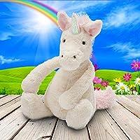 Jellycat 毛绒玩具 BASHFUL害羞系列之独角兽中号(新版) 高31cm