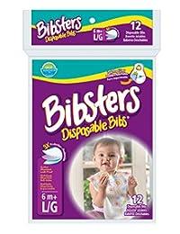 Bibsters Disposable Bibs, Large