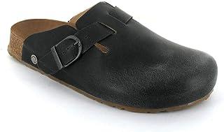 Haflinger 可调节皮革洞洞鞋 Bio Lorenzo,石墨色