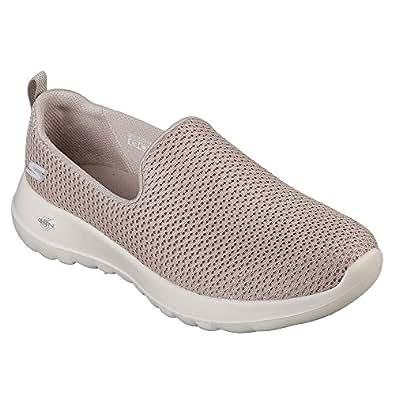 Skechers 斯凯奇 GO WALK JOY系列 女 生活休闲鞋 15600-TPE 灰褐色 38 (US 8)