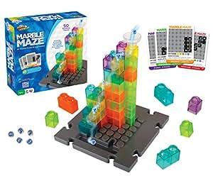 Marble Genius 大理石迷宫 - 50 块建筑物+ 60 张挑战卡 + 免费应用
