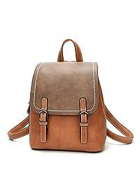 【范纪思】doodoo 时尚复古双肩包 新款休闲百搭学生背包 旅行包
