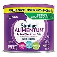 Similac 雅培 Alimentum 低敏嬰兒配方奶粉,嬰兒配方奶粉,超值裝奶粉,4件裝