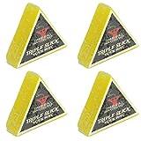 Dime Bag Hardware Triple Slick Skateboard Curb 蜡,柠檬色(4 件装)