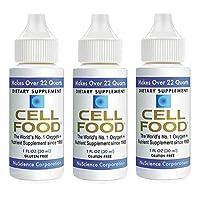 CELLFOOD 食物浓缩液1 oz(3瓶)
