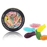 Florent 费罗伦 双鱼座鱼型水果糖 230g(法国进口)(亚马逊自营商品, 由供应商配送)