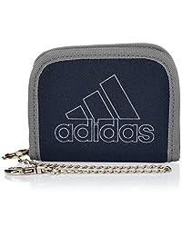 Adidas 阿迪达斯 钱包 带链子 对折