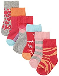 快乐袜子婴儿女童6件装盒装套装(婴儿)
