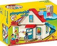 Playmobil 摩比世界 1.2.3 家庭拼插玩具 70129,具有鈴聲和音效,適用于18個月以上兒童