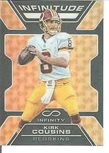 2016 Infinity Infinitude Gold #7 Kirk Cousins 7/8 Redskins
