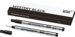 Mont Blanc Rollerball Refill, Legrand Fine, 2X1, Mystery Black (105166)