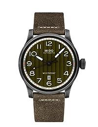 [MIDO]MIDO 手表MULTIFORT(多重折叠)M0326073609000 男式 【正规进口商品】