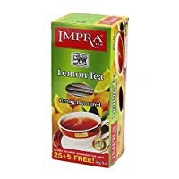 Impra英伯伦柠檬味红茶2g*25袋+5袋(斯里兰卡进口)