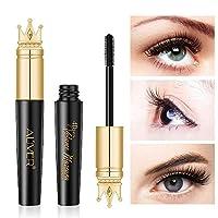 4D Extra Volume 睫毛膏,防水睫毛膏,持久耐用,浓密而长效,迷人的眼妆,黑色