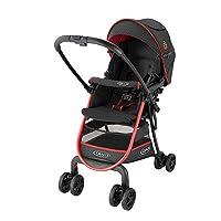 美国 Graco 葛莱 轻便 婴儿推车高景观婴儿手推车6Y72SWDN草莓红