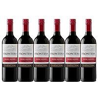 Frontera 缘峰卡本妮苏维翁红葡萄酒750ml*6(智利进口葡萄酒)