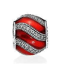 Pandora 潘多拉 女士红色配饰串珠 791991EN07(丹麦品牌 )