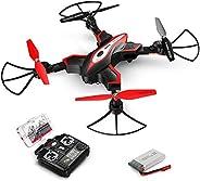 XFUNY X56W RC Wifi 无人机高清摄像头和实时视频 4 声道可折叠四轴飞行器 UAV 无头模式单键开关/着陆