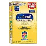 美赞臣Enfamil婴儿配方1段奶粉 33.2盎司可重复填装盒(新老包装随机发货)