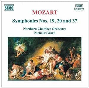 进口CD:第十九、第二十和第三十七交响曲 Mozart:Symphonies Nos.19,20 and 37(CD)8.550875