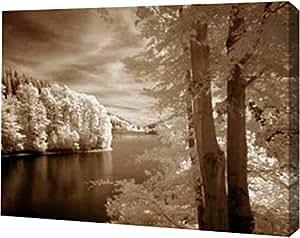 """PrintArt GW-POD-29-SIP224-16x12""""A View To Remember"""" 由 Ily Szilagyi 创作画廊装裱艺术微喷油画艺术印刷品 36"""" x 27"""" GW-POD-29-SIP224-36x27"""