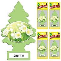 Little Trees Jasmin Air Freshener, (Pack of 24)