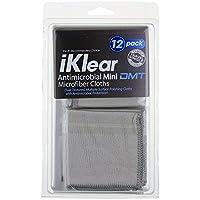 美国iKlear IK-12DMT旅行装抗菌布(12片装)触摸屏及雾面屏清洁布iPad、iPhone、iPod touch、Surface、平板电脑