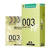 Okamoto 冈本 避孕套 超薄 003黄金6片装 原装进口