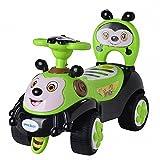 A+B 滑行车蜜蜂学步车儿童可坐宝宝玩具车婴儿靠背童车音乐助步车 7625绿色