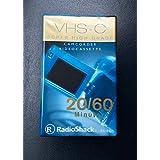 VHS-C 超高级摄像机录像带 20/60 分钟收音机