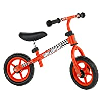molto 自行车不带踏板带头盔红色16226