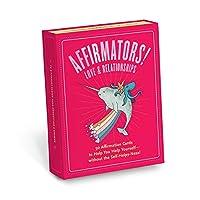 Affirmators! 50 张信片帮助您帮助自己 - 无需自助服务! LOVE