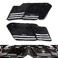 Saddlebag 衬垫墙收纳盒适用于哈利旅行电极街道之旅 King 1993-2020 2014-2020 黑色 HW-1041-1042