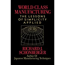 World Class Manufacturing (English Edition)