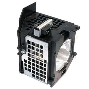 Pureglare宝得丽背投电视灯泡 适用于Hitachi 日立 55VF820,带灯架