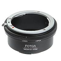 Nikon G AF-S 镜头安装适配器 适用于佳能 EF-M EOS M M1 M2 M3 M5 M6 M10 M50 M100
