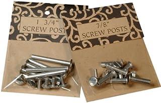 Books by Hand Screw Post .5-Inch Alum