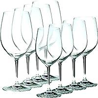 Riedel Vinum 8 Piece Chablis and Bordeaux Wine Glass Set, Buy 6 Get 8
