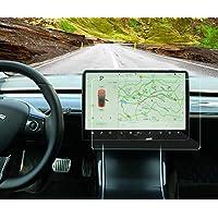WJM Tesla Model 3 Y 防指纹 15 英寸(约 38.1 厘米)中控台屏幕保护膜(HD&Matt)